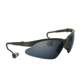 Óculos Shooting Verde Emborrachado