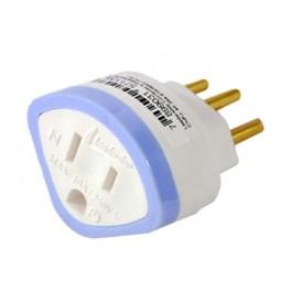 Adaptador para Tomada 2P+T 10 Ampére e 250 Volts