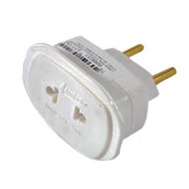 Adaptador para Tomada Universal 2P 10 Ampére e 250 Volts