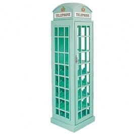 Adega em Forma de Cabine Telefônica Londres Grande Azul
