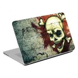 Adesivo para Notebook Caveira 14.1