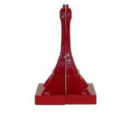 Apoio para Livros Torre Eiffel Vermelho