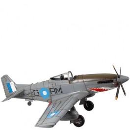 Miniatura de Avião de Guerra Cinza