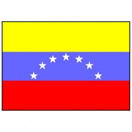 Bandeira da Venezuela 1.60 Mt.