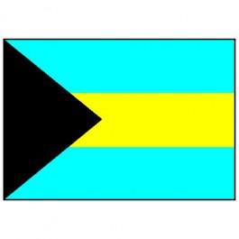 Bandeira das Bahamas 1.60 Mt.