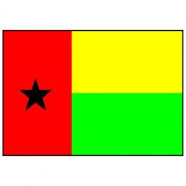 Bandeira de Guiné Bissau 1.60 Mt.