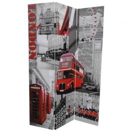 Biombo com Imagens de Londres