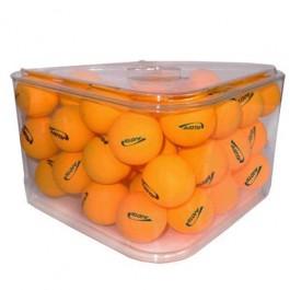 Bolas para Tênis de Mesa em Pote de Acrílico