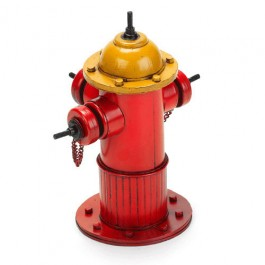 Miniatura Hidrante Vermelho New York