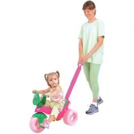 Triciclo Moranguinho com Empurrador