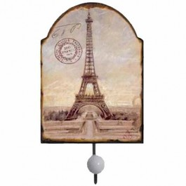 Cabideiro Torre Eiffel em Metal