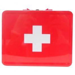 Caixa de Medicamentos Vermelha