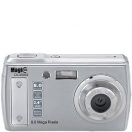 Câmera Digital Magic View DC 888 Prata