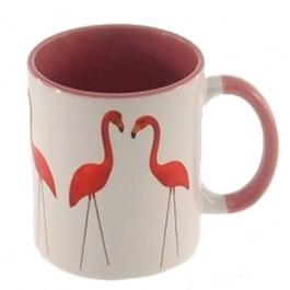 Caneca Casal de Flamingos