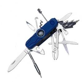 Canivete Azul 12 Funções, Bússola e Lanterna