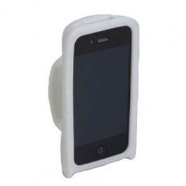 Capa para Iphone 4 Branca em Silicone