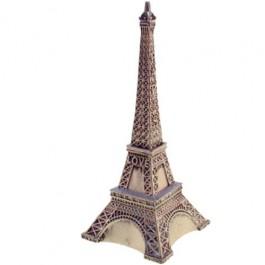 Cofre Torre Eiffel Dourada