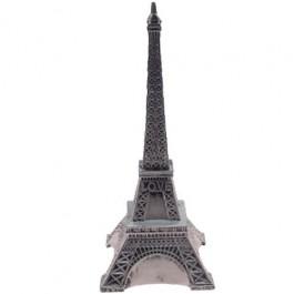Cofre Torre Eiffel Prateada