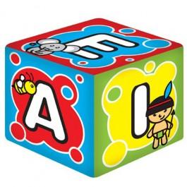 Cubo Médio Letras com Guizo