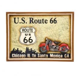 Quadro Harley Davidson US Route 66