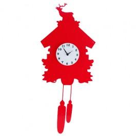 Relógio de Parede em Adesivo Cuco