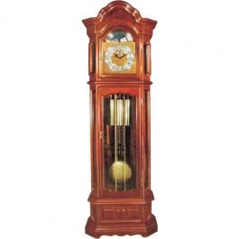 Relógio com Pedestal Bavária em Madeira