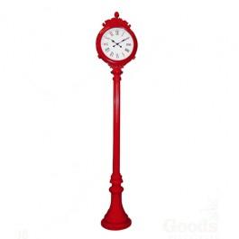 Relógio com Pedestal Red Uso Externo