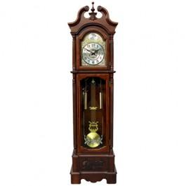 Relógio com Pedestal Saxônia em Madeira