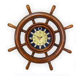 Relógio de Parede em Forma de Timão
