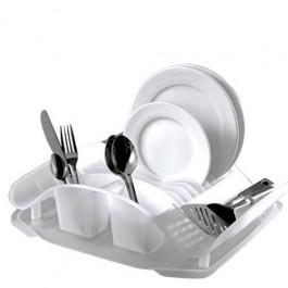 Escorredor de Louças Plástico Capacidade 10 Pratos