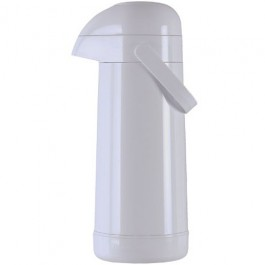 Garrafa Térmica Magic Pump Branca 1 L