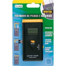 Testador de Bateria e Pilha Digital