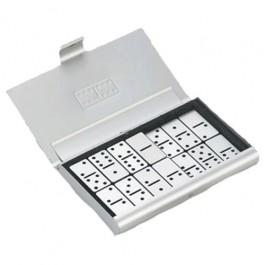 Jogo de Dominó em Caixa de Alumínio