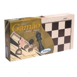 Jogo Gamão, Xadrez e Damas