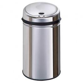 Lixeira Automática em Aço Inox 50 Lts