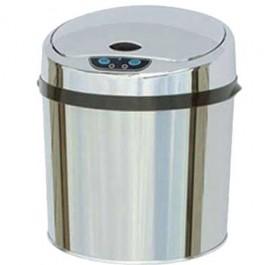 Lixeira Automática em Aço Inox 6 Lts