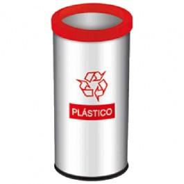 Lixeira Seletiva para Plástico 40.5 Litros