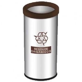 Lixeira Seletiva para Resíduos Orgânicos 40.5 Litros