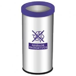 Lixeira Seletiva para Resíduos Radioativos 40.5 Litros
