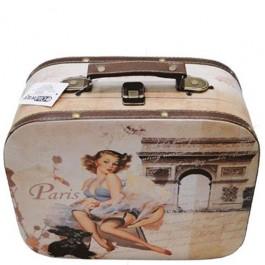 Mala Paris Girl Oldway com 2 Peças