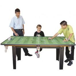 Mesa 4 em 1 Sinuca, Ping Pong,Futebol de Botão e para Refeições
