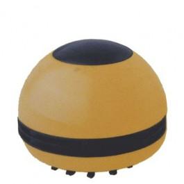 Mini Aspirador Elétrico de Mesa Amarelo