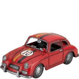 Miniatura de Carro Corrida Porsche Vermelho