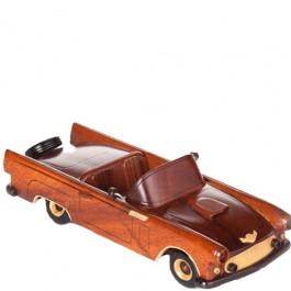 Miniatura de Carro Thunderbird Conversivel em Madeira
