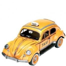 Miniatura Fusca táxi Amarelo