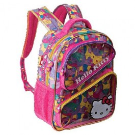 Mochila Hello Kitty HKMS202 Rosa