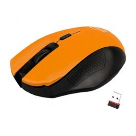 Mouse Sem Fio Citrus Laranja