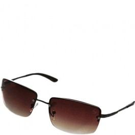 Óculos de Sol AW Purple Dourado Masculino
