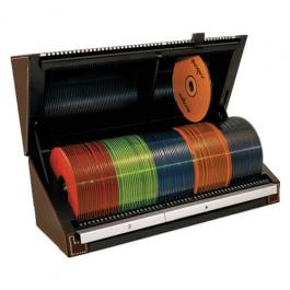 Porta CD/DVD Com Seletor e Indice Automático de Busca Brown 100