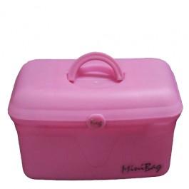Porta Maquiagem Minibag Rosa Cítrica